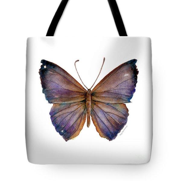 18 Purple Pandemos Tote Bag by Amy Kirkpatrick