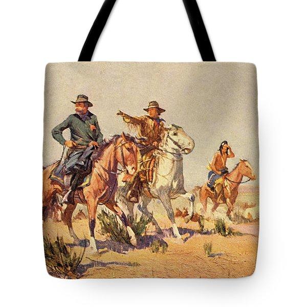1800s 1840s 1860s John C Fremont Tote Bag