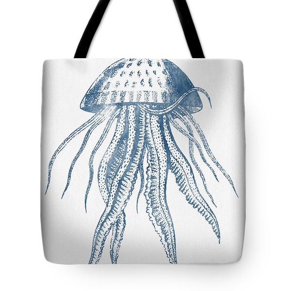 1844 Octopus Ink Drawing Tote Bag by Aged Pixel