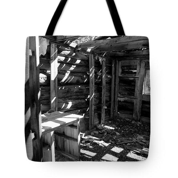 1880's Cabin Tote Bag