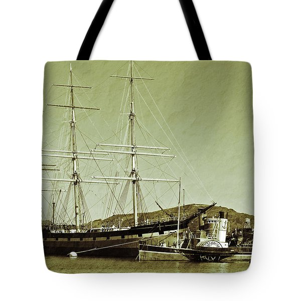 1886 Balclutha Tote Bag by Holly Blunkall