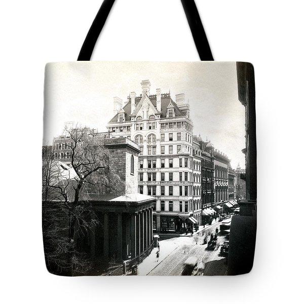 1890 Tremont Street Boston Tote Bag