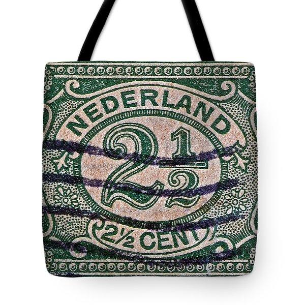 1899 Netherlands Stamp Tote Bag