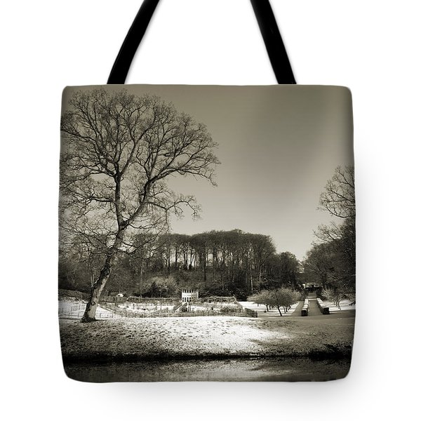 18th Century Winter Tote Bag by Anne Gilbert