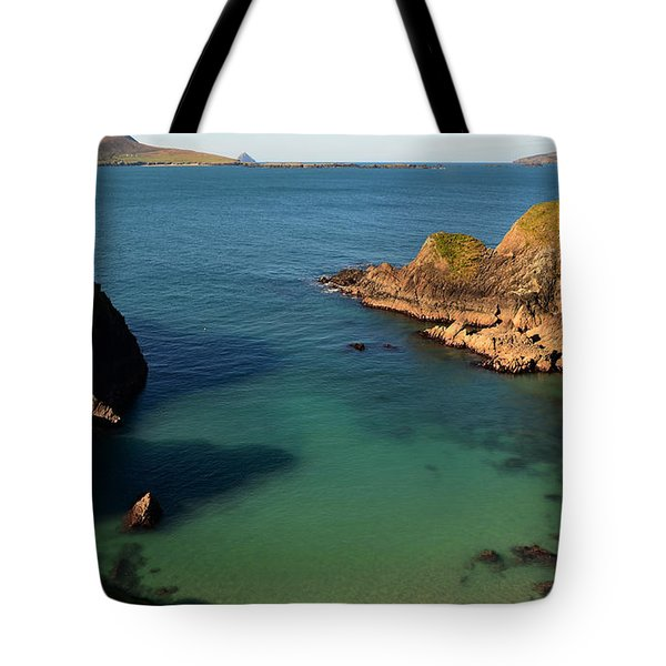 Blasket Islands Tote Bag by Barbara Walsh
