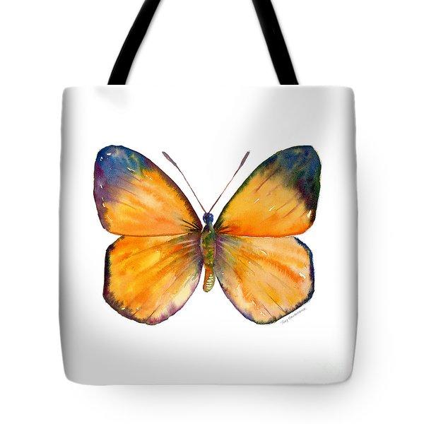 19 Delias Anuna Butterfly Tote Bag