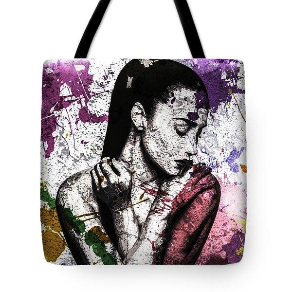 Demi Lovato Tote Bag