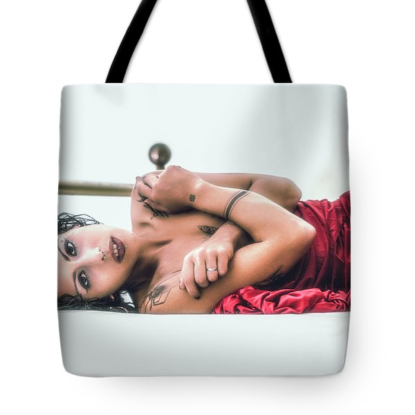 Silvia Tote Bag by Traven Milovich
