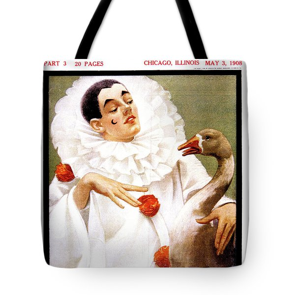 1900s Chicago Sunday Magazine Cover Tote Bag