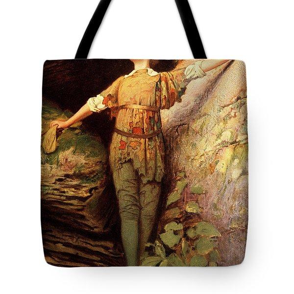 1900s Painting Of Actress Maude Adams Tote Bag
