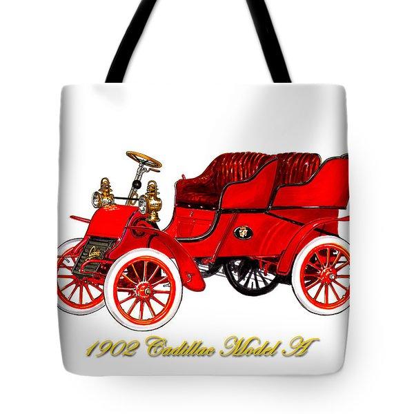 1902 Cadillac Model A Runabout Tote Bag