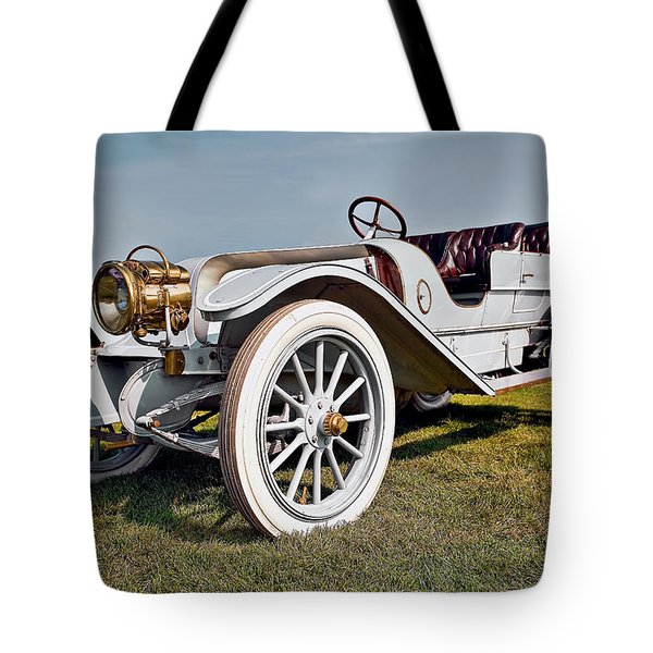 1910 Franklin Type H Touring Tote Bag by Marcia Colelli