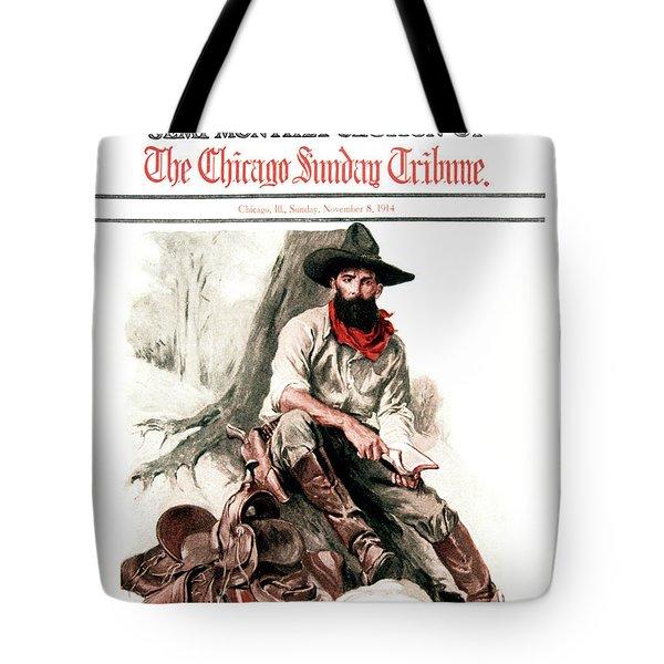 1910s 1914 Sunday Magazine Chicago Tote Bag