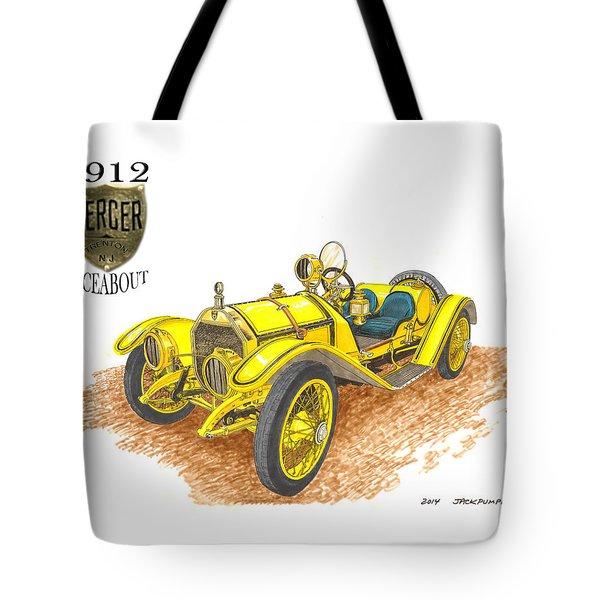 1911 1912 Mercer Raceabout R 35 Tote Bag