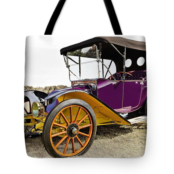 1913 Argo Electric Model B Roadster Tote Bag by Marcia Colelli