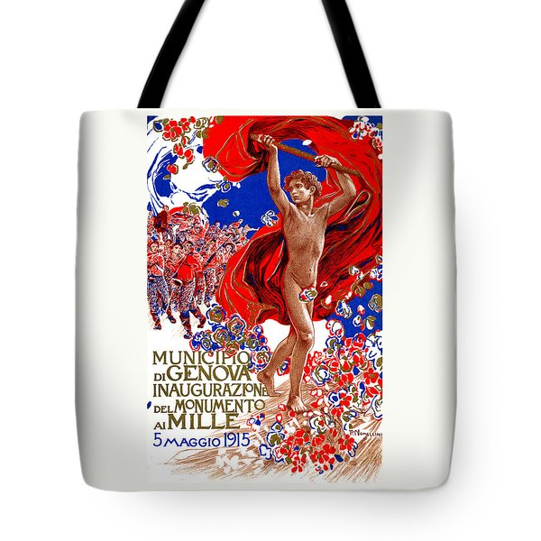 1915 Unified Italy Poster Tote Bag by Historic Image