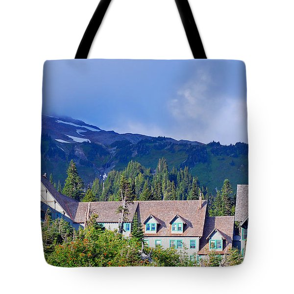 1916 Paradise Inn. Mount Rainier National Park Tote Bag