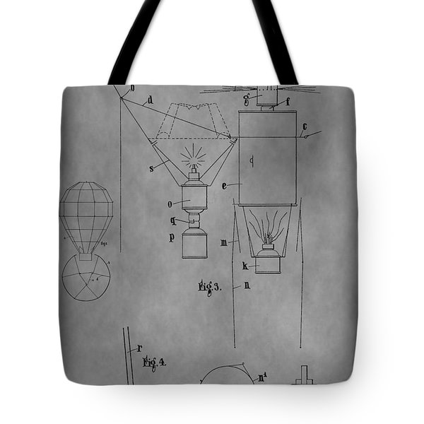 1920 Hot Air Balloon Tote Bag