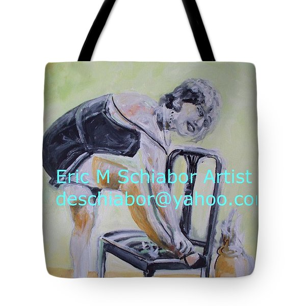 1920s Girl Tote Bag by Eric  Schiabor