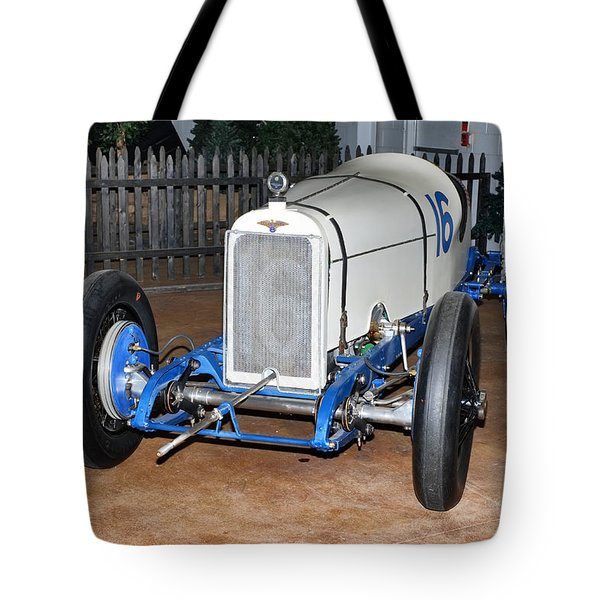 1921 Duesenberg Race Car Tote Bag by Boris Mordukhayev