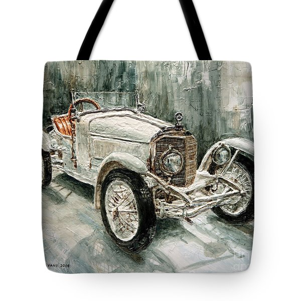 1923 Mercedes Ps Sport- Zweisitzer Tote Bag by Joey Agbayani