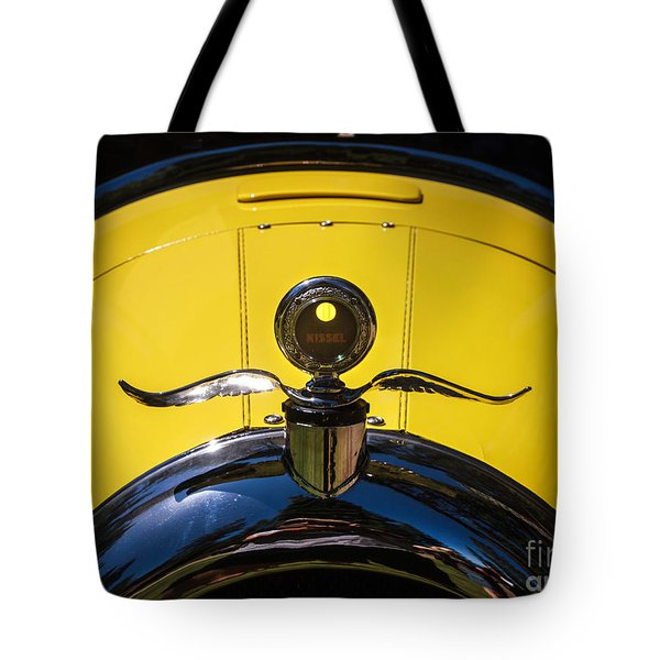 Tote Bag featuring the photograph 1924 Kissel Gold Bug by Mitch Shindelbower