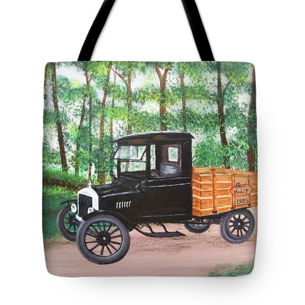 1925 Model T Ford Tote Bag