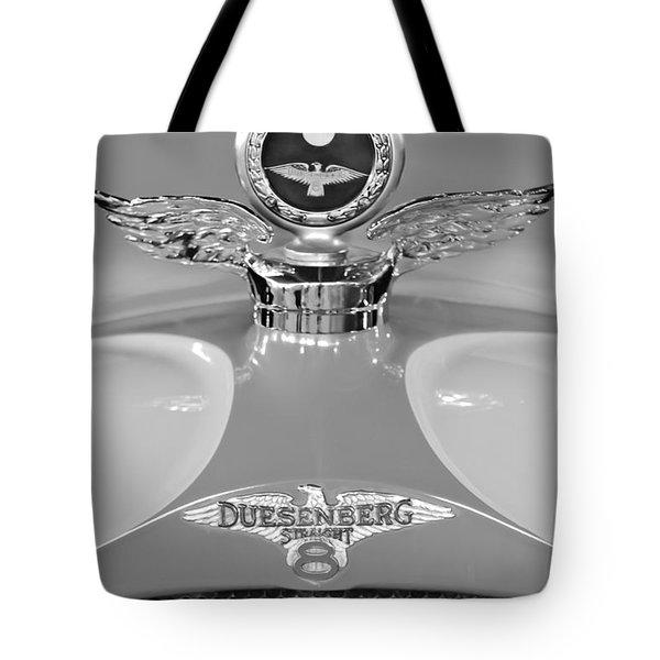 1926 Duesenberg Model A Boyce Motometer 2 Tote Bag by Jill Reger