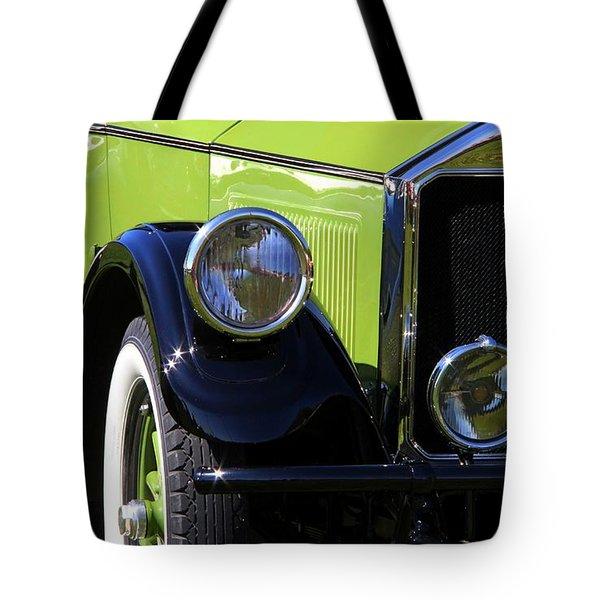 1926 Pierce Arrow Tote Bag by Davandra Cribbie