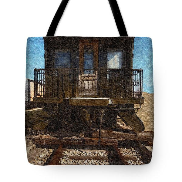 1926 Santa Fe Superintendent's Car  Tote Bag
