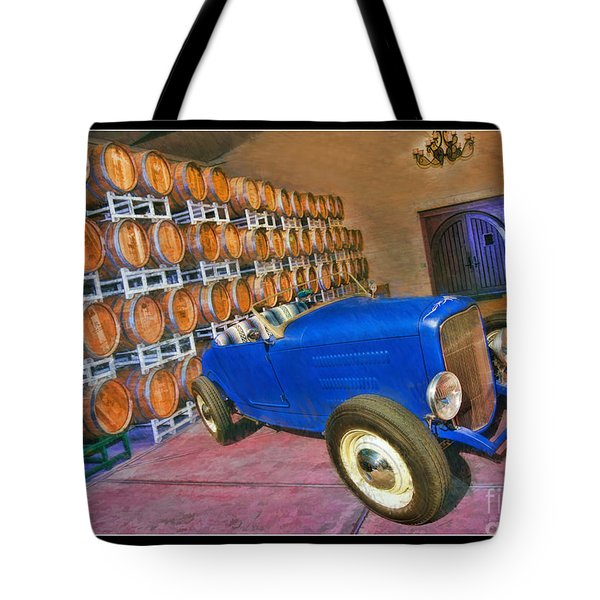 1927 Ford Roadster Tote Bag by Blake Richards