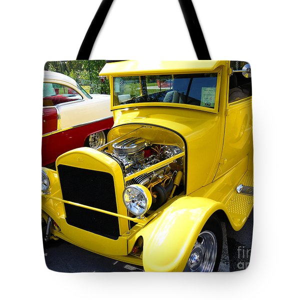 1927 Ford Sedan With Bags Of Style Tote Bag