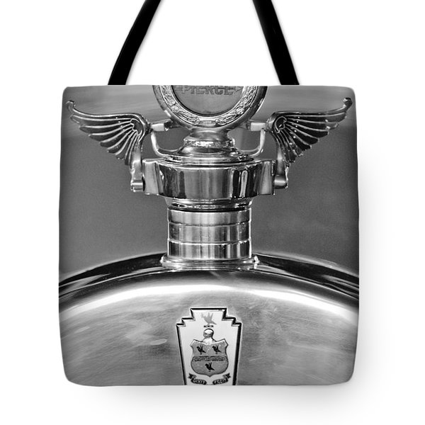 1928 Pierce-arrow Hood Ornament 2 Tote Bag by Jill Reger