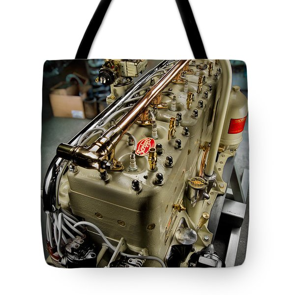 1928 Scripps 205 Engine Tote Bag