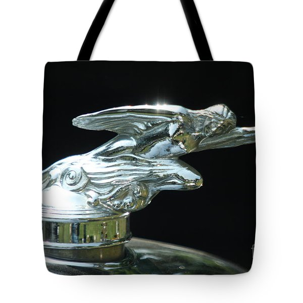 1928 Studebaker Hood Ornament Tote Bag
