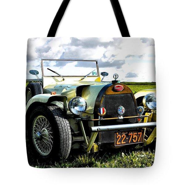 1929 Bugatti Tote Bag by Bill Cannon