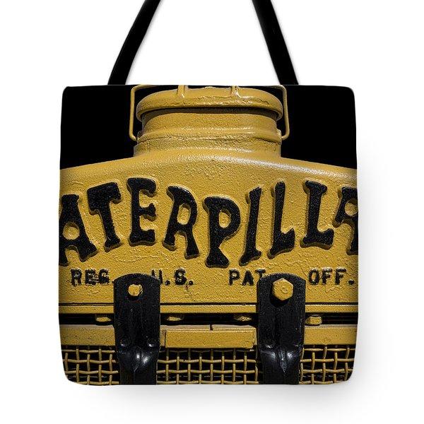 1929 Caterpillar Baby Dozer Grill Tote Bag