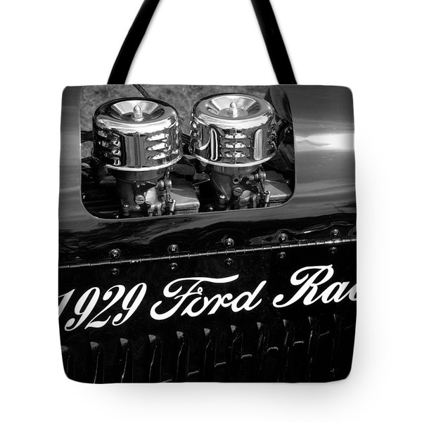 Tote Bag featuring the photograph 1929 Ford Racer by Janice Adomeit