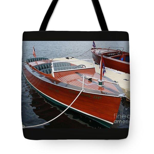 1930 Chris Craft Tote Bag