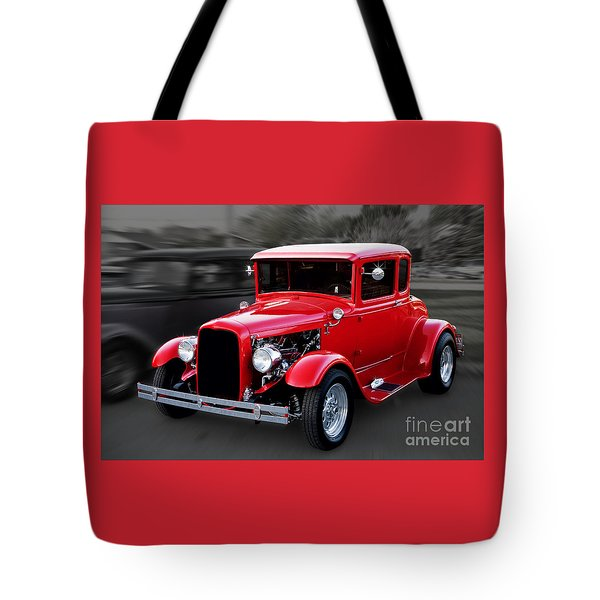 1930 Ford Model A Coupe Tote Bag by Gene Healy