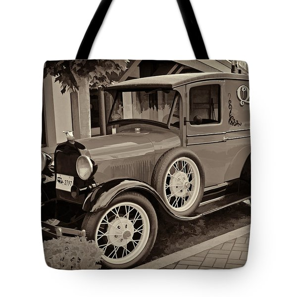 1930 Ford Panel Truck Tote Bag