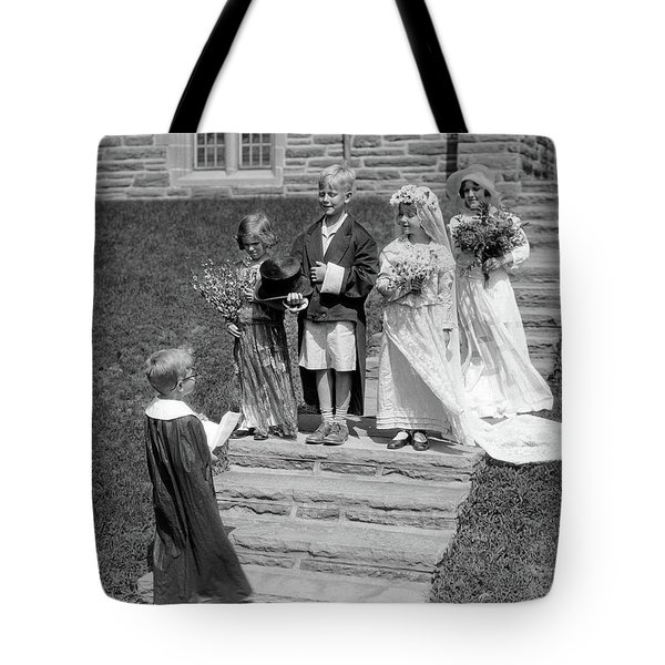 1930s Children Boys And Girls Playing Tote Bag