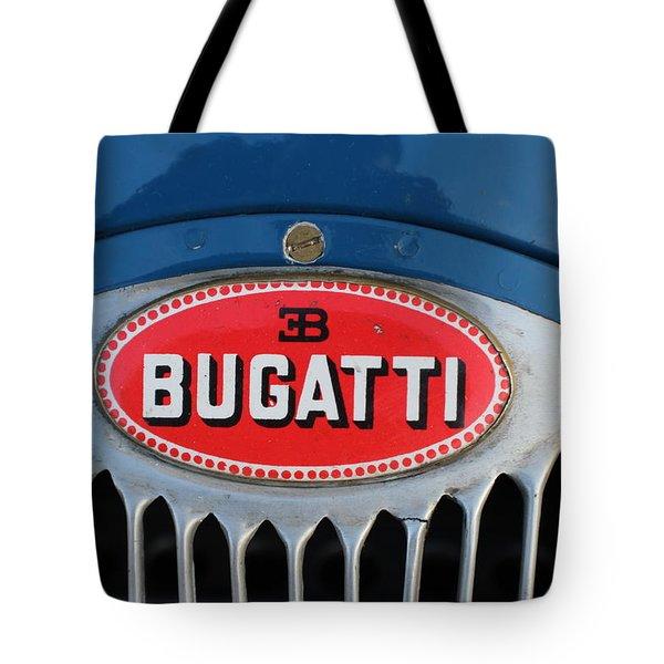 1930's Ettore Bugatti Tote Bag