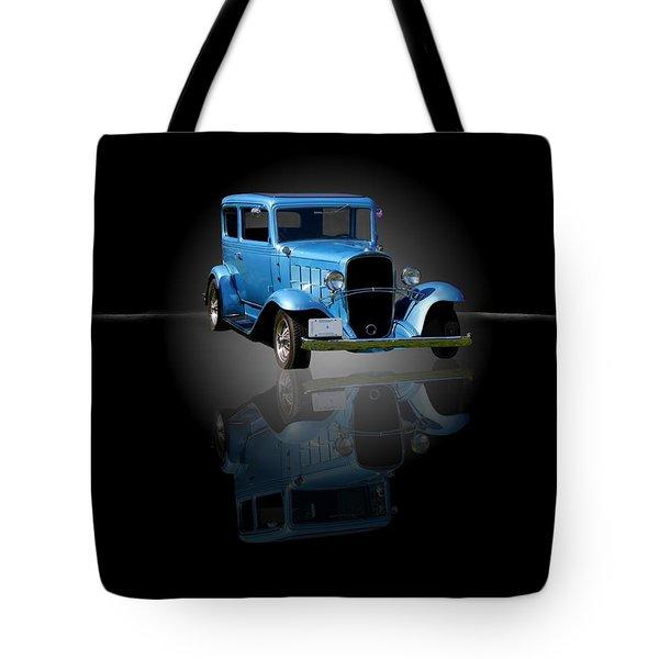 1932 Chevrolet Streetrod Tote Bag by Davandra Cribbie