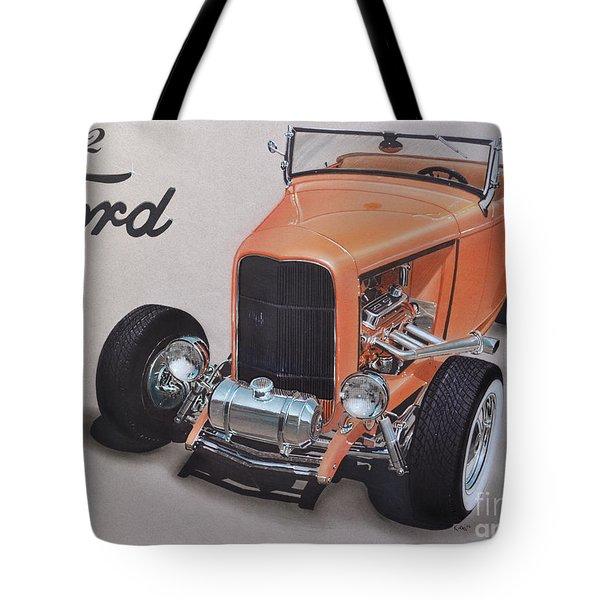 1932 Ford Tote Bag by Paul Kuras