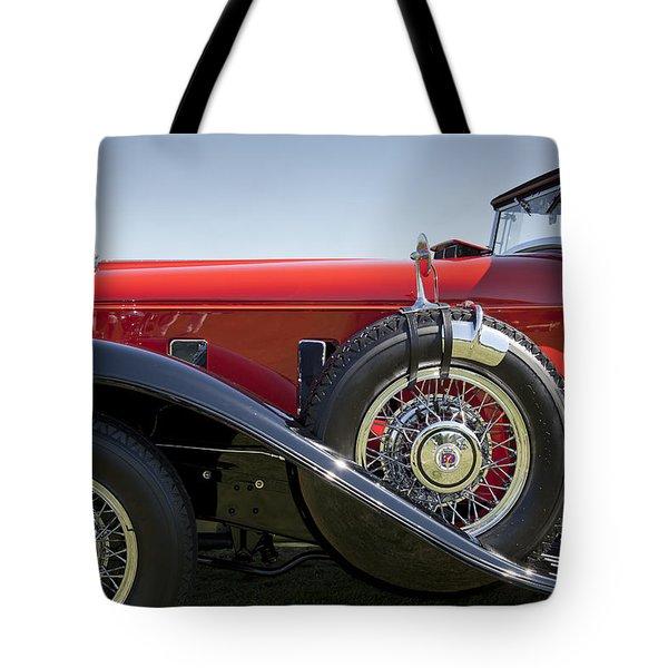 1932 Stutz Bearcat Dv32 Tote Bag