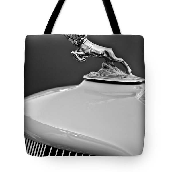 1933 Dodge Ram Hood Ornament 2 Tote Bag by Jill Reger