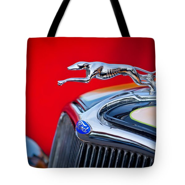 1933 Ford Hood Ornament Tote Bag
