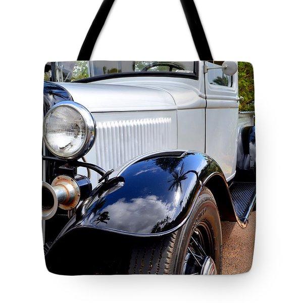 1933 Ford Pickup - Left Fender View Tote Bag