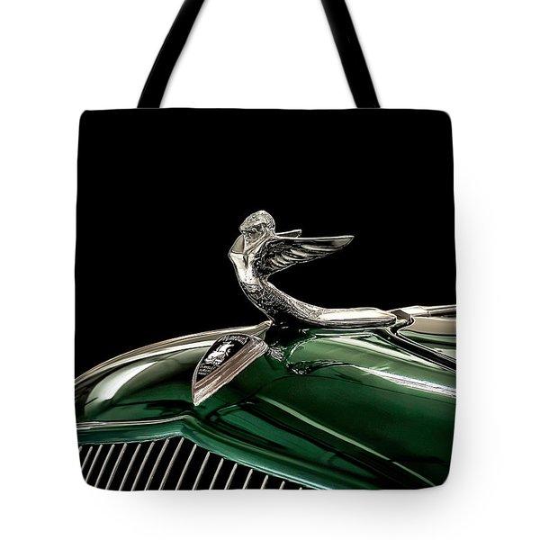 1933 Plymouth Mascot Tote Bag